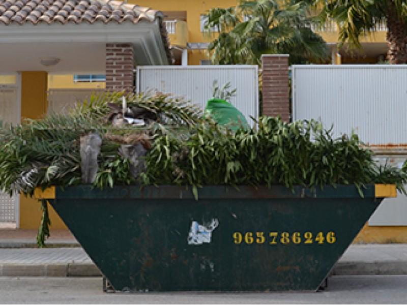 Alquiler de contenedores para residuos